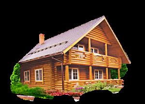 Сруб дом