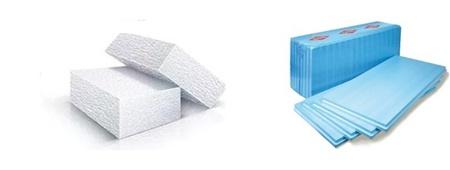 Пенопласт и пенополистирол: отличия материалов