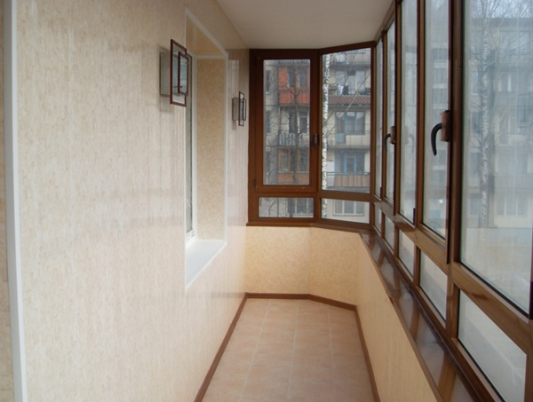 , Отделка балконов